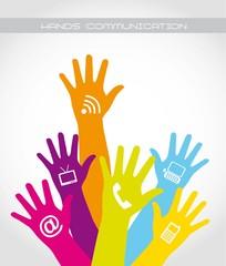 hands communication