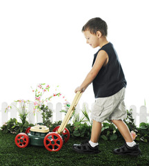 Young Mower