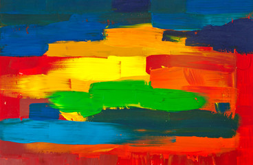 Canvas. Hand-painted abstract art backgrounds.