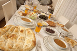 Ramadan dining table