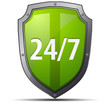 24/7 protection shield
