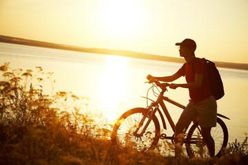 trip on bicycle