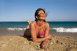 Relax al sole sulla spiaggia