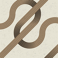 Intersecting lines. Retro background, vector, EPS10.