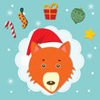 fox christmas celebration