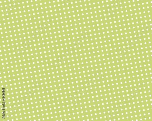 Hintergrund Grün mit weißen Punkten
