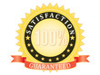 Satisfaction Guaranteed sign vector illustration