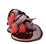 Fototapety chocolate strawberry dessert candy food