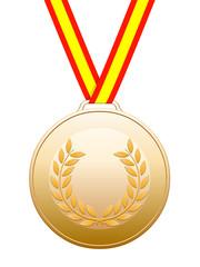 Medalla española de bronce