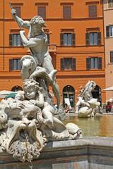 Fontana del Nettuno, Piazza Navona, Roma V