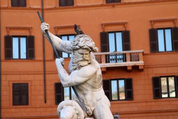 Fontana del Nettuno, Piazza Navona, Roma VI