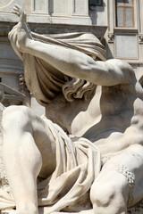 Fontana dei 4 Fiumi, Roma - il Nilo II