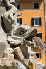 Obelisco con fontana, Pantheon - Roma I