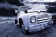 Fototapeta Kąt - Starodawny - Samochód