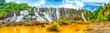Leinwanddruck Bild - Pongour waterfall