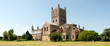Historic Tewkesbury Abbey, Gloucestershire, Severn Vale, UK