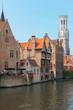 Vew on Belfort in Bruges