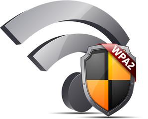 Wi-Fi WPA2 protected