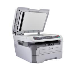 Open scanner