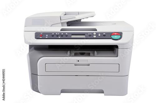 white copier