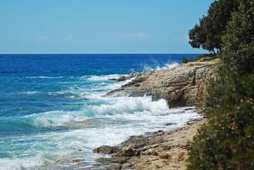 Sea near Pula, Croatia