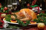 Fototapety Roasted Christmas Turkey