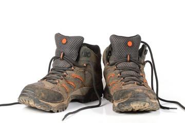 shoe, trekking boots