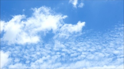 Timelapse of Clouds.