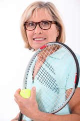 Tennis in the elderly