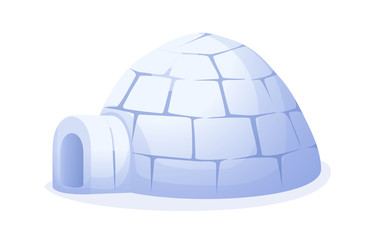 vector icon igloo