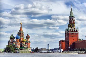Вид на Красную площадь.Москва