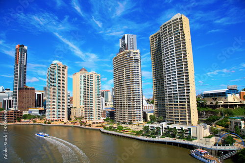 Brisbane River and City, Australia