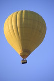 Hot-air balloon in a blue sky