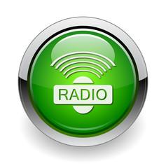 radio web green button