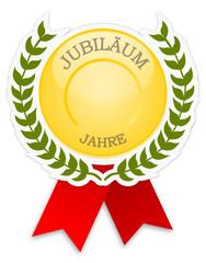 Plakette Jubiläum