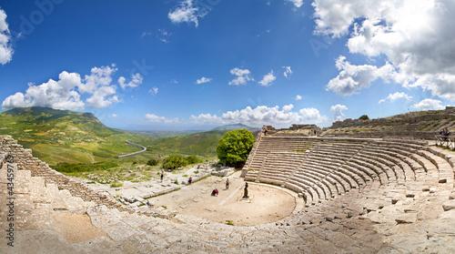 Teatro di Segesta, Sicily, Italy