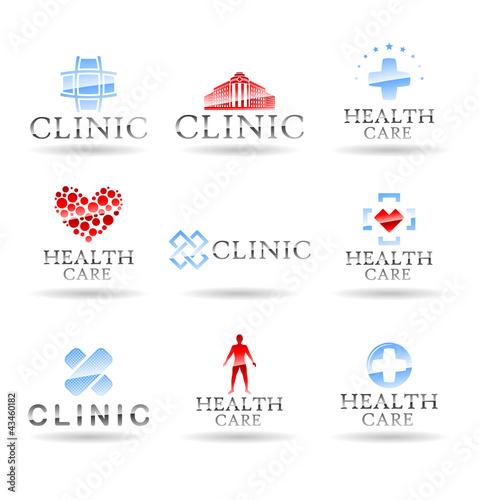 Set of medical icons. Set 2.