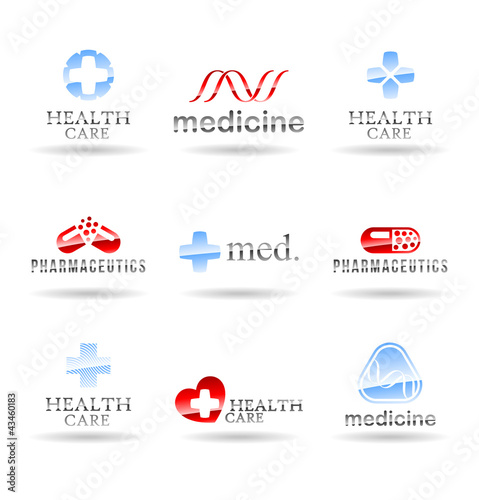 Set of medical icons. Set 3.