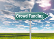 "Signpost ""Crowd Funding"""