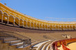 seats of bullfight arena,  Sevilla, Spain