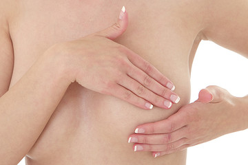 Santé - Palpation des seins
