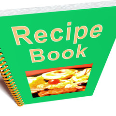 Recipe Book For Cookery Or Preparing Food