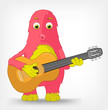 Funny Monster. Guitarist.