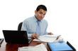 Businessman at desk