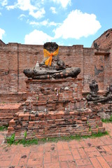 The remains of Buddha