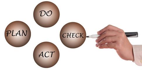 Plan do act and check