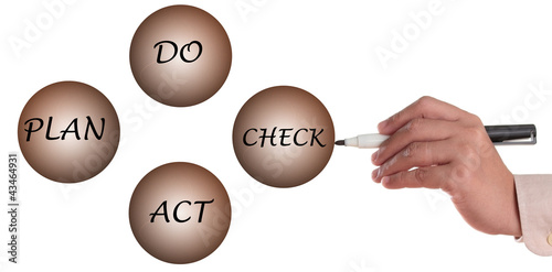 Plan do act and check