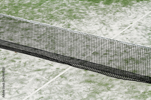scene details paddle tennis racquet sports