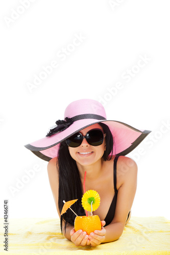 beautiful summer woman