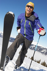 Male Skier Cross Country Skier